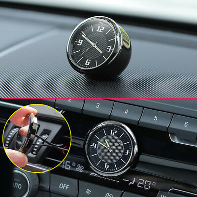 $ CDN18.75 • Buy Metal Glossy Car Front Dashboard Air Vent Clock Time Reminder Accessories Parts