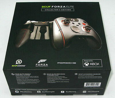 $335 • Buy SCUF Forza 7 Elite Collector's Edition Leather Xbox One Controller