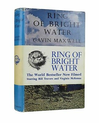 Gavin Maxwell – Ring Of Bright Water – First UK Edition 1960 – With Band - 1st • 480£