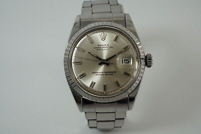 $ CDN6616.17 • Buy Rolex Vintage Datejust 1603 Dates 1968 Original Big Block Dial Stainless Steel