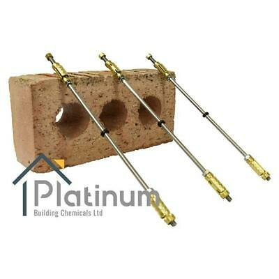 Brass Mechanical Wall Ties 200mm Length | Expansion Replacement Cavity Brick • 18.90£