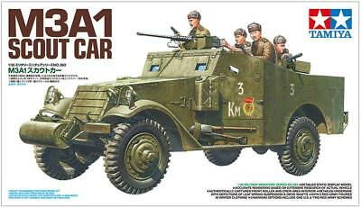 $43.87 • Buy Tamiya 35363 M3A1 Scout Car 1/35 Scale Kit JAPAN OFFICIAL IMPORT