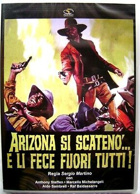 DVD Arizona Si Triggered And Li DID Out All By Sergio Martino 1970 New • 4.86£