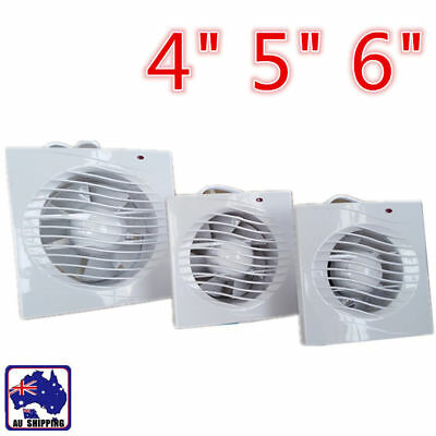 AU20.90 • Buy 4  5  6  Extractor Exhaust Fan Window Office Home Bedroom Use Kitchen EVF0266