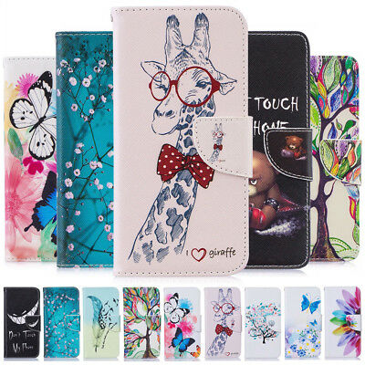 $ CDN8.49 • Buy For Samsung S20 FE S21 S10 S9 S8+ Painting Leather Flip Wallet Book Case Cover