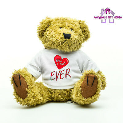 AU28.85 • Buy Gifts For Him, Best Fiance Ever Teddy Bear, Valentine's Day Gifts For Fiance