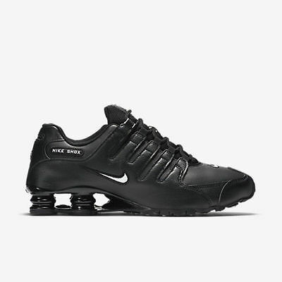 new style 586b6 92179 New Nike Men s Shox NZ EU Running Shoes (501524-091) Black