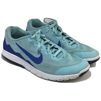 8ad13f67d7f1 Women s NIKE FLEX EXPERIENCE RN 4 Blue   Baby Blue Running Shoes Size 9 •  25.00