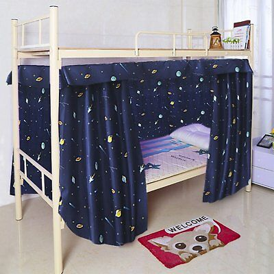 New Cabin Bunk Bed Tent Curtain Cloth Dormitory Mid Sleeper Canopy Spread Kids • 23.19£