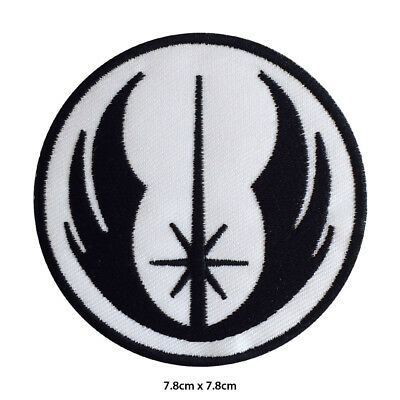 STAR WARS Jedi Order Uniform Badge Embroidered Patch Iron On Sew On Badge • 1.99£