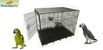 Wundapets Parrot Carrying Cage Travel Holiday Cage African Grey Amazon 2607m  • 39.95£