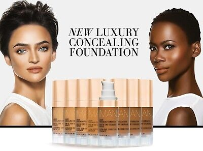 IMAN NEW LUXURY CONCEALING FOUNDATION - All Shade • 19.99£