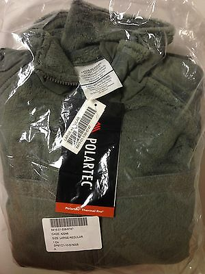 US Military Issue Polartec Thermal Pro L3 Gen 3 Fleece Jacket Size:Large Reg NEW • 76.95$
