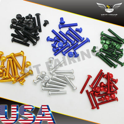 $19.99 • Buy NT Complete Fairing Bolt Kit Body Screw Fit For Suzuki GSXR 600 750 1000 1300 TL