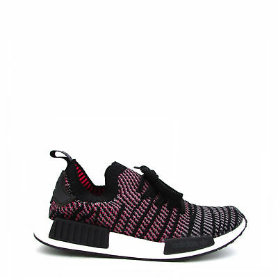 quality design 9d87a 2b1ed Zapatos Adidas Unisex Mujer Hombre NMD R1 STLT, Sneakers Negro Gris