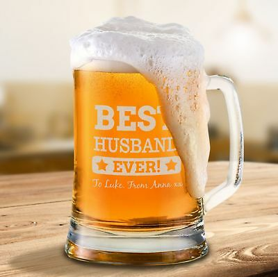 AU20.79 • Buy Personalised Valentines Day Beer Mug Engraved Valentine's Day Gift For Him