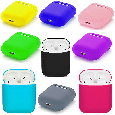 $ CDN5.99 • Buy For Apple AirPods Case Protect Silicone Cover Skin AirPod Earphone Charger Cases