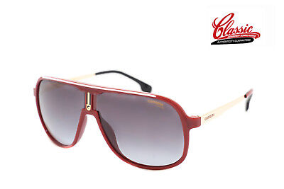 AU129.99 • Buy Carrera 1007/S C9A 9O Red Gold Frame With Grey Gradient Lens Mens Sunglasses