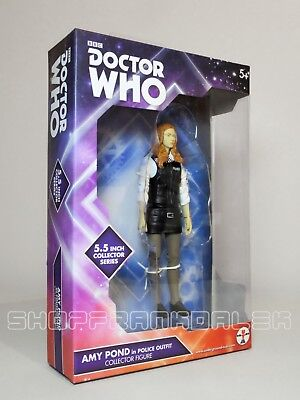 Doctor Who - Amy Pond Action Figure (police Outfit) • 14.75£