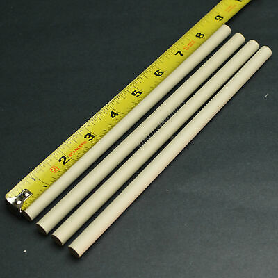 $11.73 • Buy Lot Of 4 Long Ceramic Knife Sharpening Rods 8 1/2  X 3/8  Stick