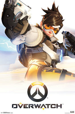 AU16.72 • Buy Overwatch Key Art Video Gaming Poster 22x34 Inch