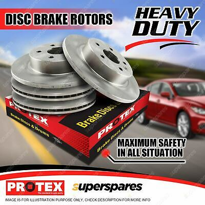 AU242.99 • Buy Protex Front + Rear Disc Brake Rotors For Nissan Pulsar SSS N15 2.0L 8/95-on