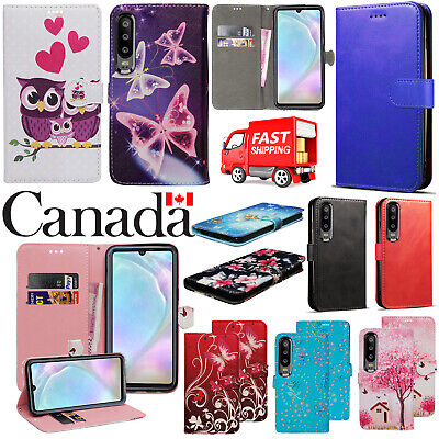 $ CDN5.99 • Buy For Huawei P30 P40 Lite P30 Pro New Stylish PU Leather Flip Wallet Case Cover