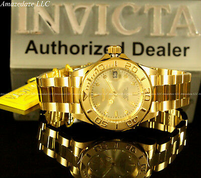 $ CDN157.18 • Buy Invicta Men Pro Diver 24J Automatic NH35A Stainless Steel Champagne Dial Watch