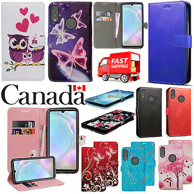 $ CDN5.99 • Buy For Huawei P30 Lite New Stylish PU Leather Wallet Phone Flip Stand Case Cover