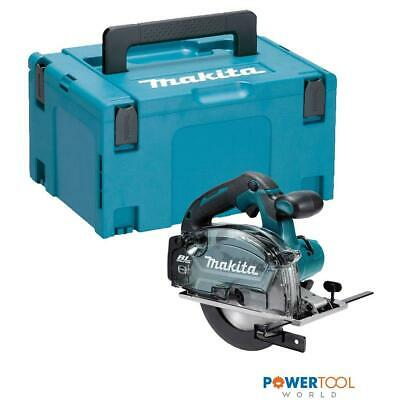 Makita DCS553ZJ 18v LXT 150mm Brushless Metal Cutting Saw Body Only In Makpac Ca • 239£