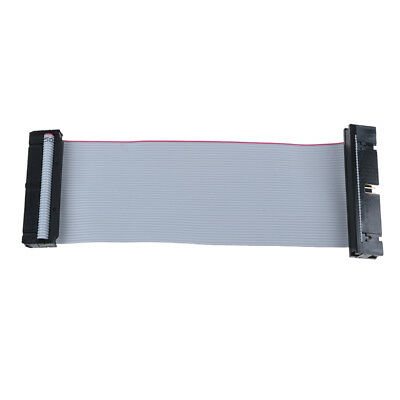 IDE 40Pin Male To Female Pata Hard Drive Hdd Extension Flat Ribbon Cable 5inchDS • 2.87£