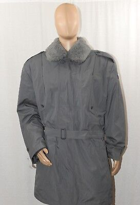 $69.99 • Buy Urban Gray, Grey Czech Army Parka / Military Surplus Coat With Liner & Collar