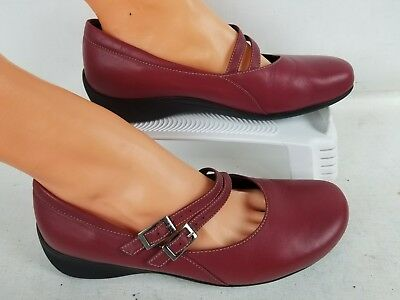 Wolky Women's Mary Jana Red Design For Comfort Shoes Size 40 Us 9 • 25.74£