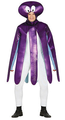 Adult Silly Octopus Costume Squid Mens Ladies Sealife Fancy Dress Outfit NEW • 19.99£