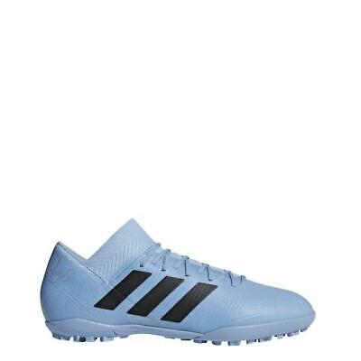 reputable site a4405 36dab Adidas Men s Nemeziz Tango 18.3 TF Turf Indoor Soccer Shoes Messi Blue -  DB2221 • 59.99