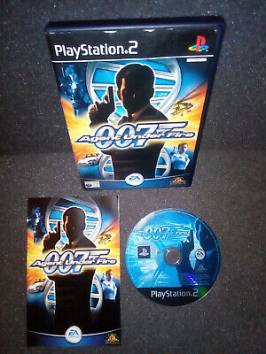 007 Agent Under Fire – Playstation 2 PS2 Game With Manual – VGC PAL UK • 3.95£