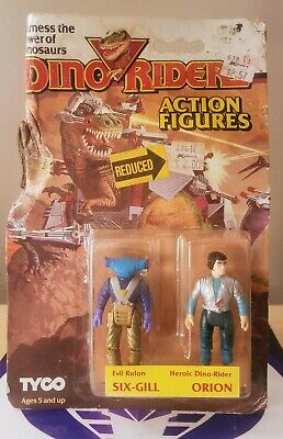 Dino Riders Six Gill Orion Action Figure 1987 Tyco New Sealed • 37.76£