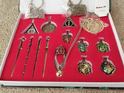 $ CDN26.23 • Buy New 15 PCS Harry Potter Wand Magical Wands Ring Necklace Decorate Halloween Gift
