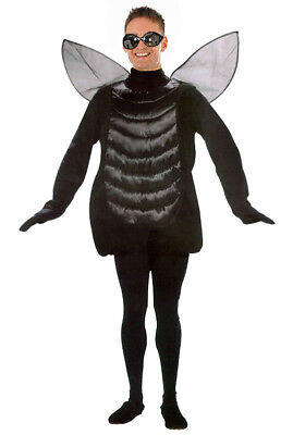 £22.99 • Buy Adult Fly Costume Mens Ladies Insect Bug Fancy Dress Silly Party Halloween NEW