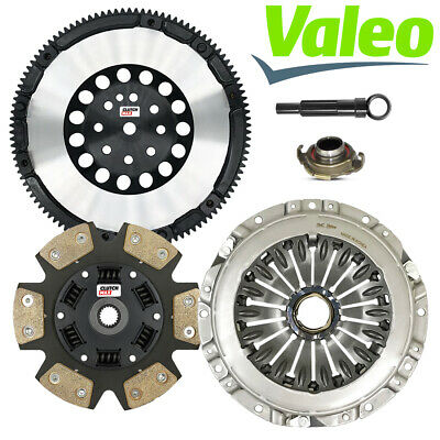 $233.01 • Buy VALEO STAGE 3 CLUTCH KIT With CHROMOLY FLYWHEEL Fits 03-08 TIBURON SE GT 2.7L V6