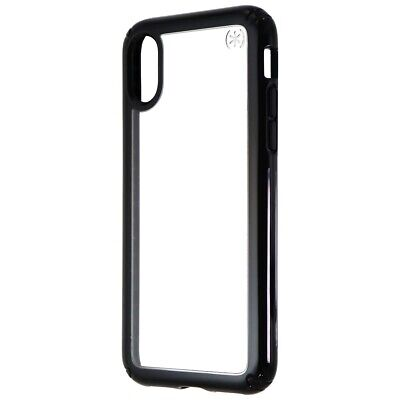 AU7.78 • Buy Speck Presidio Show Series Hard Case For Apple IPhone XS / X - Clear / Black