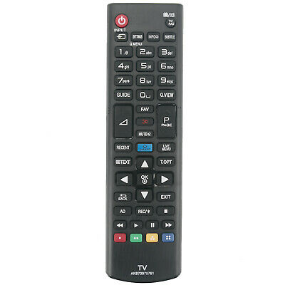 £7.44 • Buy AKB73975761 Remote Control For LG 3D Smart LCD LED TV