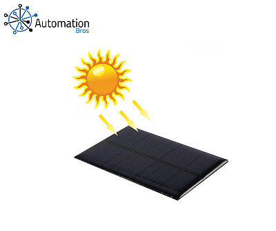 AU13.99 • Buy Solar Panel 2V To 18V Mini System 0.15W To 4.2W