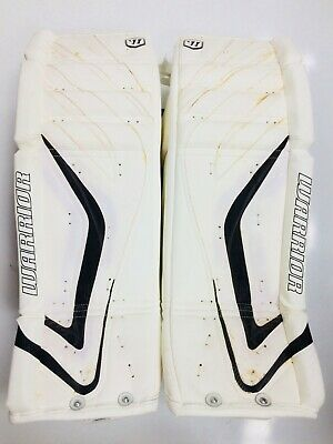 $449.99 • Buy New Warrior Messiah Pro Goalie Leg Pads White/black 33 +1 Ice Hockey Senior Goal