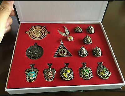 $19.89 • Buy 14 PCS Harry Potter Wand Magical Wands Rings Necklace Decorate Gift Cosplay Game