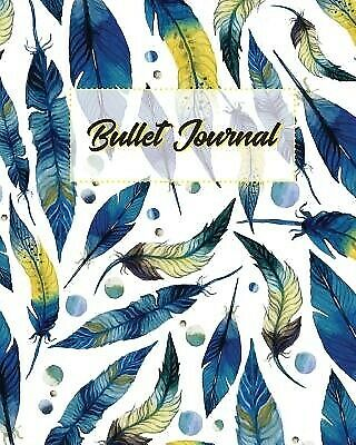 AU21.99 • Buy Bullet Journal 150 Pages Dotted Grid Paper 8x10 Large Notebook 9781974546077