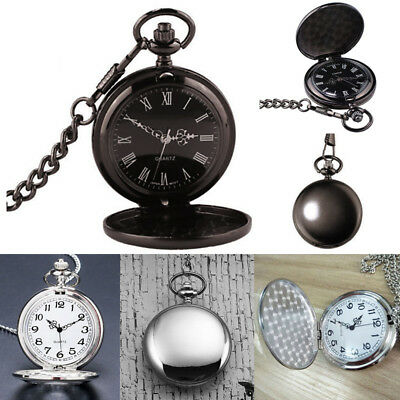 Victorian 1920s Steampunk Pocket Watch Fancy Dress Costume Quartz Watch Mens Boy • 4.95£