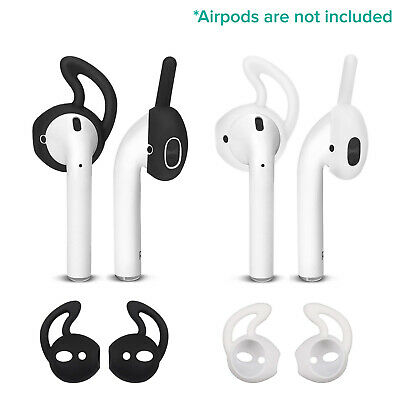$ CDN3.01 • Buy Ear Hooks Earbuds Rubber Skin Accessories EarPods Case For Apple AirPods 2 Pairs