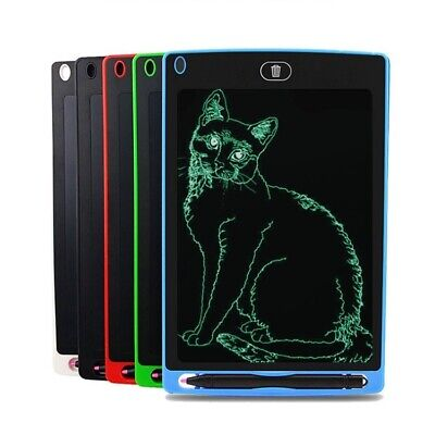 8.5 12  Electronic Digital LCD Writing Pad Tablet Drawing Graphics Board Notepad • 9.99£