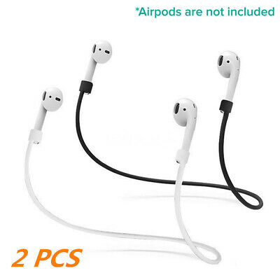 $ CDN2.61 • Buy 2 PCS Silicone Airpods Strap Anti-Lost Holder AirPods Accessories Protective